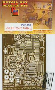 Part P72151 - Sd.Kfz.234/2 Puma (1/72) - 2824104030
