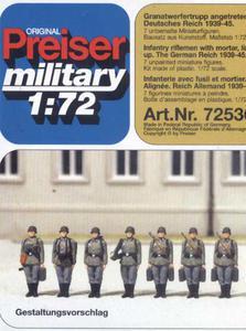 Preiser 72536 - Niemiecka piechota (1/72) - 2824104402