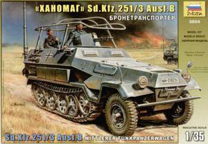 Zvezda 3604 - Sd.Kfz.251/3 Ausf.B (1/35) - 2824104573