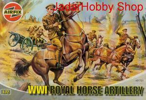 Airfix 01731 - WWI Royal Horse Artillery (1/72) - 2824104730