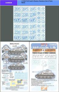 Echelon D356036 Numery na wieże Panzer IV G (paint mask 1:35) - 2824104865