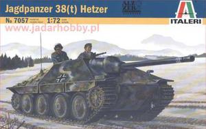 Italeri 7057 Jagdpanzer 38(t) Hetzer (1:72) - 2824105015