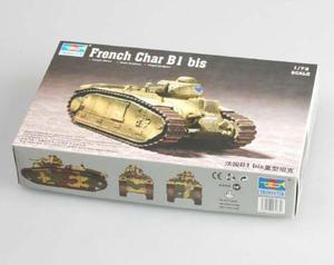 Peddinghaus 2626 1//72 4 Char B1 bis Panzer Frankreich 1939-1940 No 2
