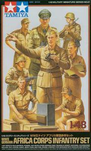 Tamiya 32561 - Africa Corps Infantry Set (1/48) - 2824105342