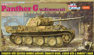 Dragon 6384 Sd.Kfz.171 Panther Ausf.G w/Zimmerit (1:35) - 2824105374