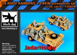 Black Dog T35079 US RSOV Rangers plus Crew (1/35) - 2824097867