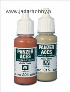 Vallejo Panzer Aces 70.315 Light Mud (farba akryl 17ml) - 2824105706