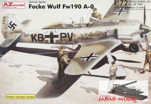 AZ model AZ 7265 Focke Wulf Fw190 A-0 (1/72) - 2824105736