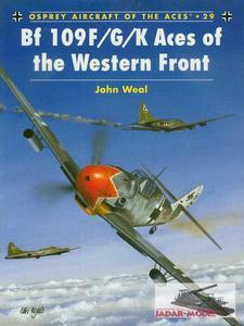 Osprey ACE029 Bf 109F/G/K Aces of the Western Front (książka) - 2824105905
