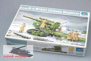 Trumpeter 02307 Russian B-4 M1931 203mm Howitzer (1/35) - 2824105911