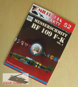 Militaria i Fakty 52 Messerschmitt Bf 109 F-K vol.2 - 2824105995
