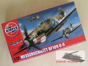 Airfix 02029 Messerschmitt Bf109 G-6 (1:72) - 2824106006