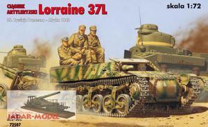 RPM 72507 Ciągnik artyleryjski Lorraine 37L (Afryka, 1942) (1:72 - 2824106190