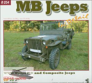 WWP R054 - MB Jeeps in Detail (książka) - 2824106212