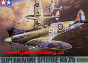 Tamiya 61035 Supermarine Spitfire Mk.Vb Trop (1/48) - 2824106253