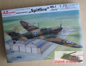 AZ model AZ 7287 Supermarine Spitfire Mk.I Early (1/72) - 2824106266