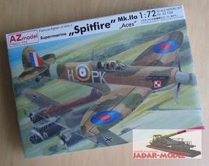 """AZ model AZ 7288 Supermarine Spitfire Mk.IIa """"Aces"""" (1/72) - 2824106267"""