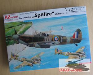 AZ model AZ 7290 Supermarine Spitfire PR Mk.IIa LR (1/72) - 2824106269