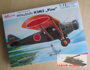 """AZ model AZ 7273 Mitsubishi K3M3 """"Pine"""" (1/72) - 2824106270"""