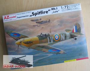 AZ model AZ 7295 Supermarine Spitfire Mk.I late (1/72) - 2824106278