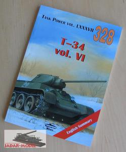 Militaria 328 T-34 vol. VI (książka) - 2824106311