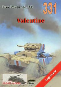 Militaria 331 Valentine (książka) - 2824106568