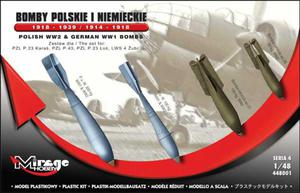Mirage 448001 German and Polish Bombs 1918-1939/1914-1918 - 2824106594