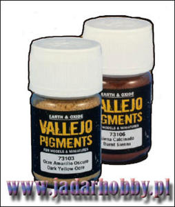 Vallejo Pigments 73106 Burt Sienna (30ml) - 2824106898
