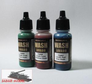 Vallejo 73201 Black Shade (Wash 17 ml) - 2824106913