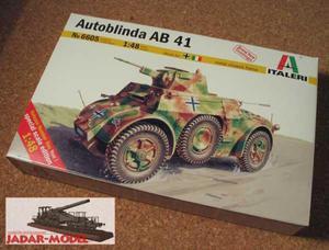 Italeri 6605 Autoblinda AB 41 (1:48) - 2824107032