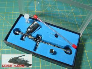 MAR AEROGRAF AD-7781, dysze 0,2mm i 0.3mm - 2824107188