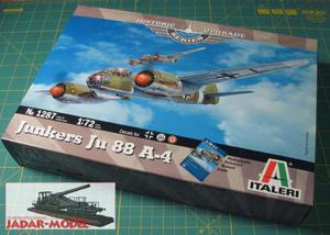 Italeri 1287 Junkers Ju 88 A-4 (1/72) - 2824107199