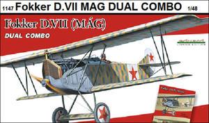 Eduard 1147 Fokker D.VII (MAG) Dual Combo! (1:48) - 2824107208
