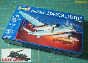 "Revell 04690 Heinkel He 219 ""UHU"" (1/72) - 2824107423"