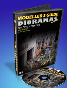 Jadar Modeller's Guide - Dioramy (Budowa i malowanie) (DVD) - 2824107480