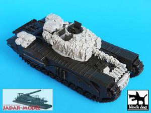 Black Dog T35020 Churchill Mk VII Accessories Set (1/35) - 2824107571