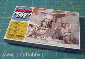 Preiser 64018 US Airborne Troops, D-Day 1944 (1/35) - 2824107603