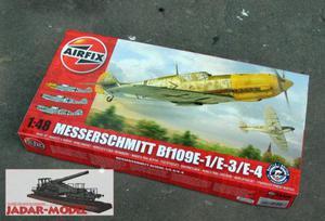 Airfix A05120 Messerschmitt Bf 109E (1/48) - 2824107658
