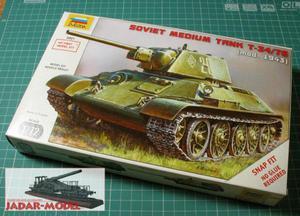 Zvezda 5001 T-34/76 Model 1943 (1/72) - 2824107688
