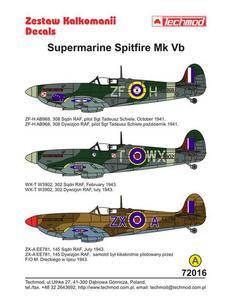 Techmod 72016 - Supermarine Spitfire Mk.Vb (1/72) - 2824107690