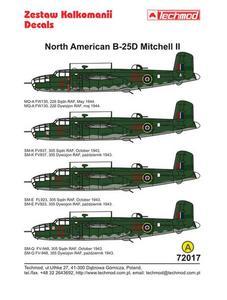 Techmod 72017 - North American B-25D Mitchell II (1/72) - 2824107691