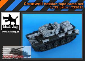 Black Dog T35023 Cromwell Hessian Tape Camo Net (1/35) - 2824107766