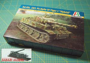 "Italeri 6487 Pz.Kpfw.VI Tiger I ""Hybrid"" (1/35) - 2824107892"