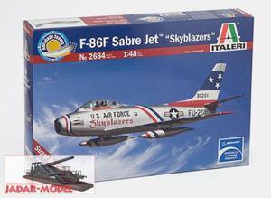 "Italeri 2684 F-86F Sabre Jet ""Skyblazers"" (1/48) - 2824107957"