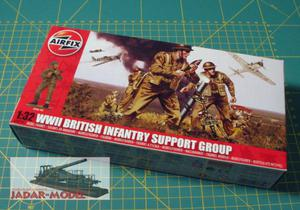 Airfix 04710 WWII British Infantry Support Group (1/32) - 2824108169