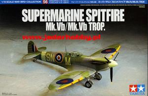 Tamiya 60756 - Supermarine Spitfire Mk.VB/Mk.VB Trop. (1/72) - 2824108336