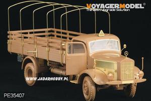 Voyager PE35407 1:35 Mercedes Benz L4500A Truck - 2824108529