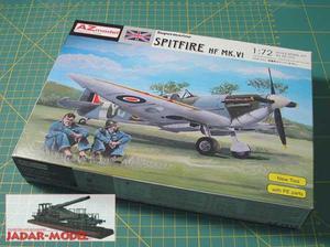 AZ model AZ 7312 Supermarine Spitfire HF Mk.VI (1/72) - 2824108679