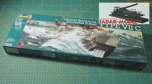 1:144 Revell 05038 German Submarine U-Boot Type VII C - 2824108680