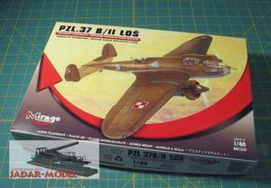 Mirage 481310 PZL P.37 B/II Łoś (1/48) - 2824108749